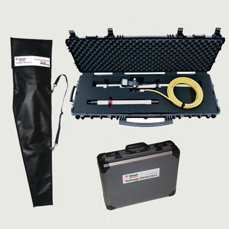 Boxes, Bags, Wall holder – HS-Tester